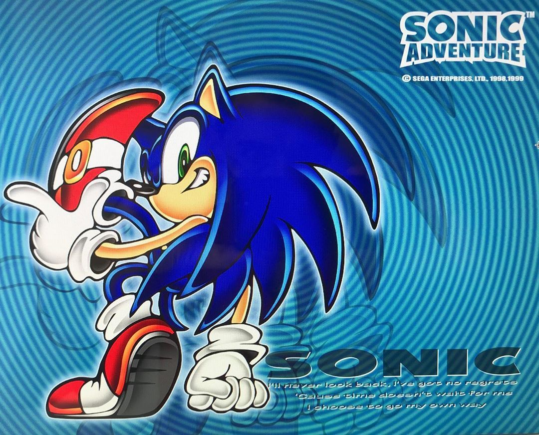 Sonic Adventure The Power Of Dreamcast Games Dreamcast Dreamcastgames Segadreamcast Sega Sonic S Sonic The Hedgehog Sonic Sonic Adventure