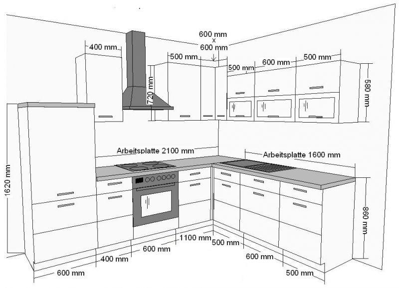 Kuchenzeile Tiefe Kitchen Layout Plans Kitchen Design Decor