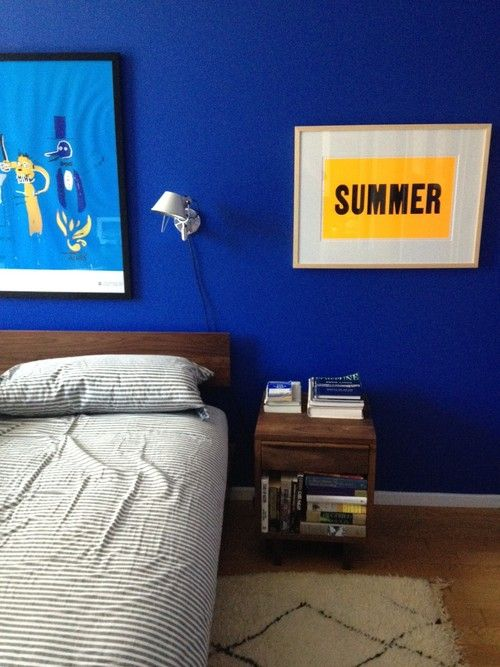 Benjamin Moore Twilight Blue Bedroom A Bright And