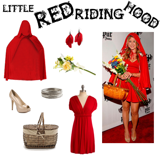 Halloween Costume DIY: little red riding hood | Scary
