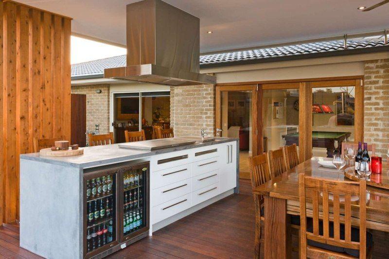 Hängele Küche outdoor küchen kochinsel mit kühlscrhrank outdoor