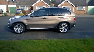 Ebay 2005 Bmw X5 Sport D Auto Gold Spares And Repairs Car