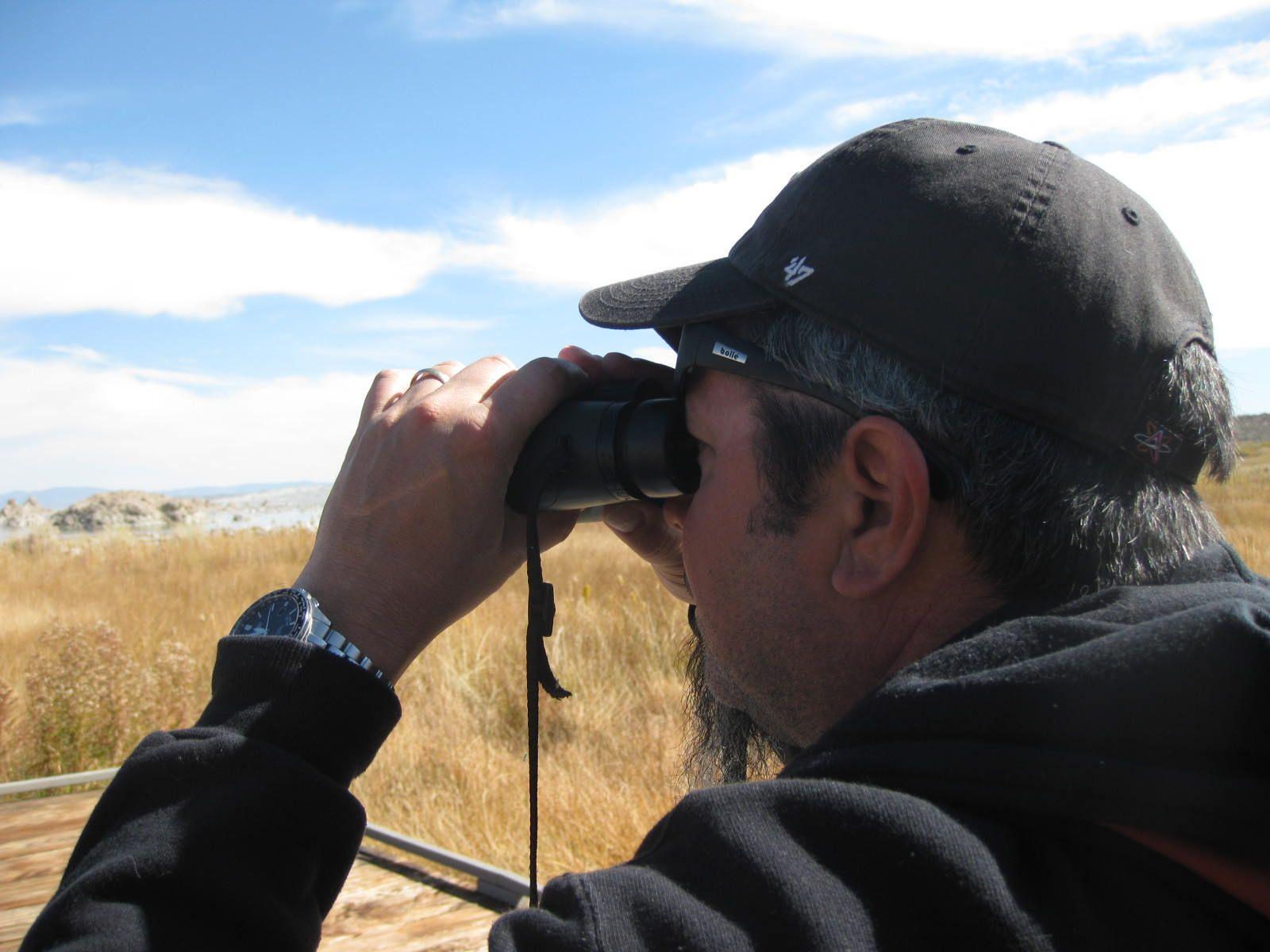 Jim at Mono Lake