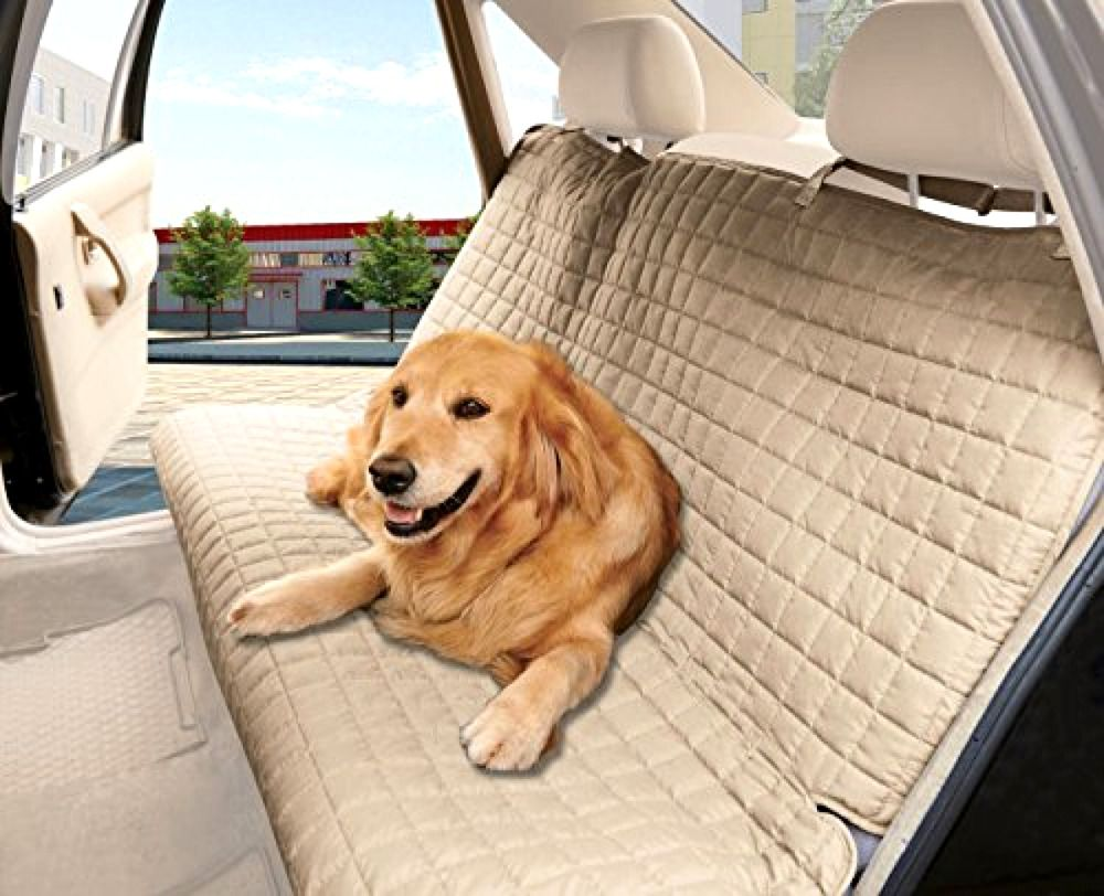 Waterproof Dog Car Seat Cover For Dogs Pet Protector EleganceLinen