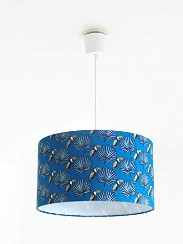 lustre suspension plafonnier abat jour toucans luminaire. Black Bedroom Furniture Sets. Home Design Ideas
