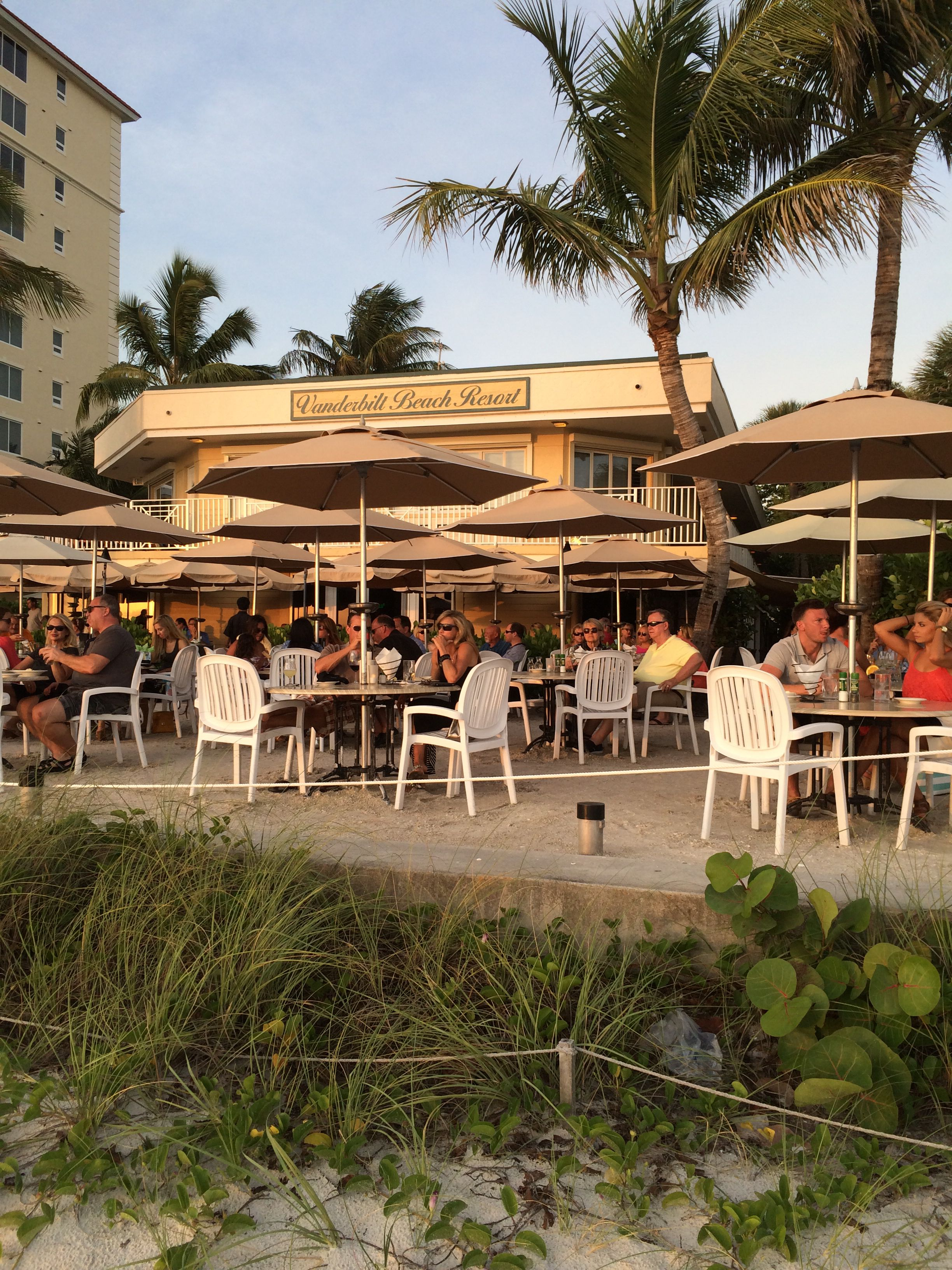 Dinner on the Beach at the Turtle Club