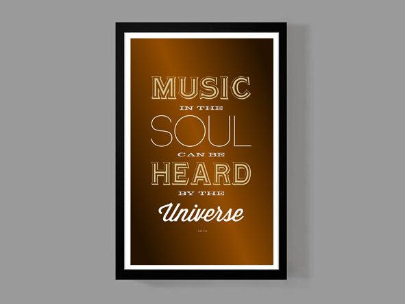 A personal favorite from my Etsy shop https://www.etsy.com/listing/167265230/music-art-print-home-decor-music-in-the