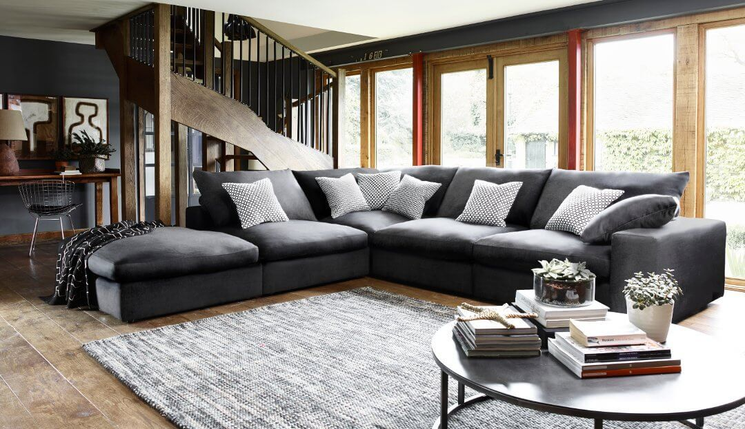 The Haymarket Extra Deep Large Corner Sofa is a great ...