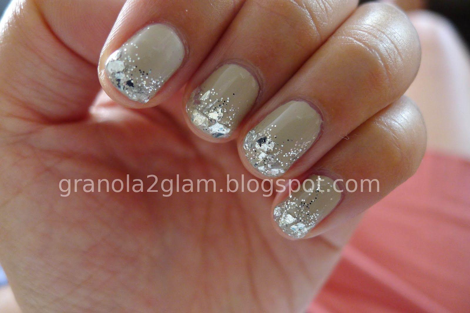 Granola 2 Glam: DIY Nude Blingy Manicure With OPI, Martha Stewart ...