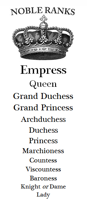 So that's why I've never felt like much of a Queen, I'm an
