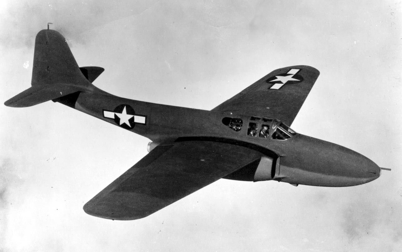 Experimental Military Aircraft | Bell P-59 Airacomet, Experimental Aircraft, Jet, United States Air ...
