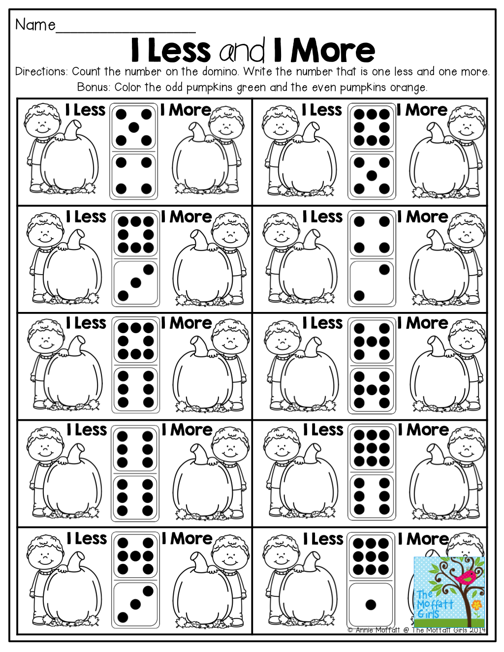 1 Less And 1 More Count The Number On The Domino And Write One Less And One More Math Lessons Kinder Math Math Objective [ 1325 x 1024 Pixel ]