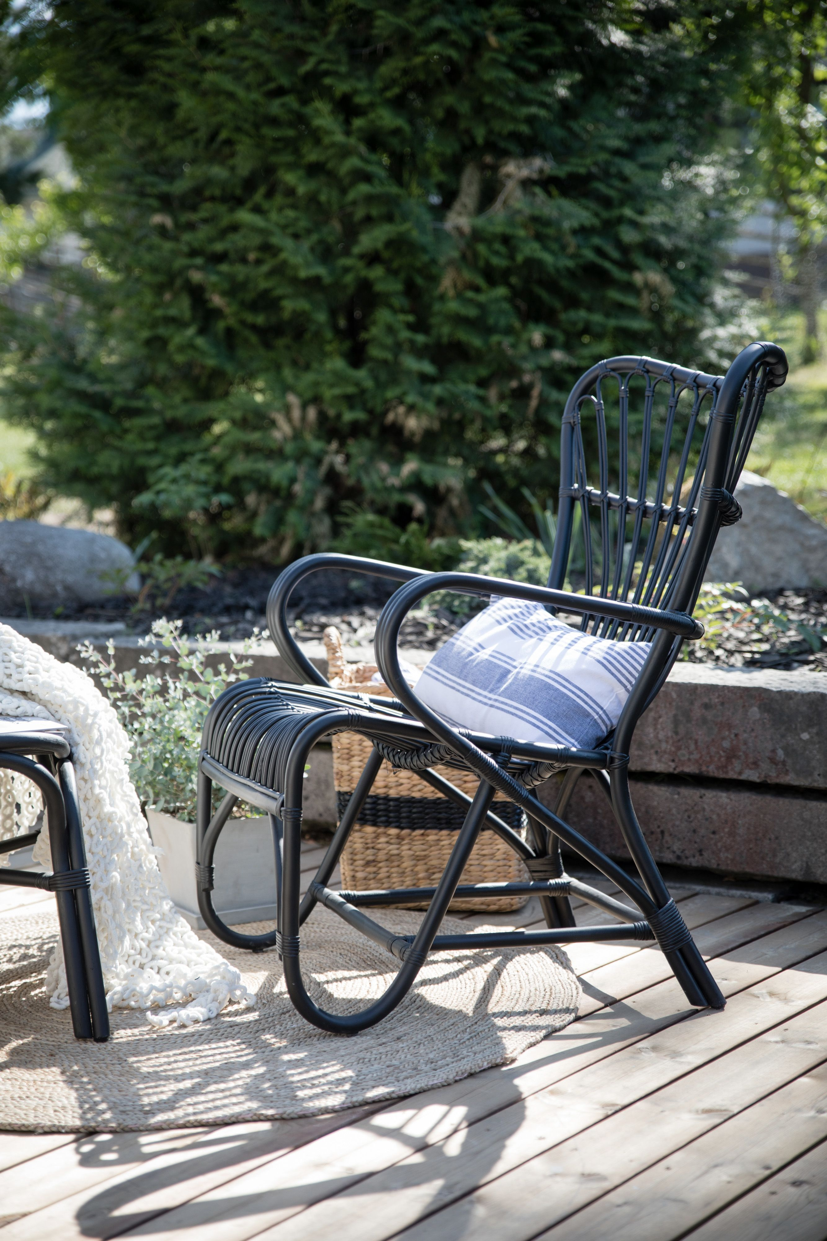 Vintage chair by Parolan Rottinki. | Outdoor chairs, Outdoor