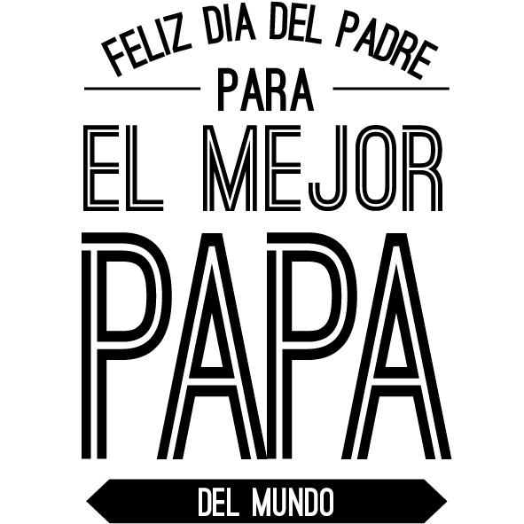 Number One Cartel En Vinilo Dia Del Padre Feliz Dia Del Padre