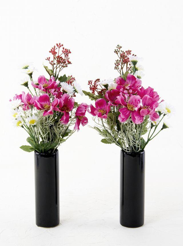 仏花の1対 墓前やお仏壇にお供えする造花の販売 通販 種類も豊富なあーとみゆき 2020 仏花 造花 デルフィニューム