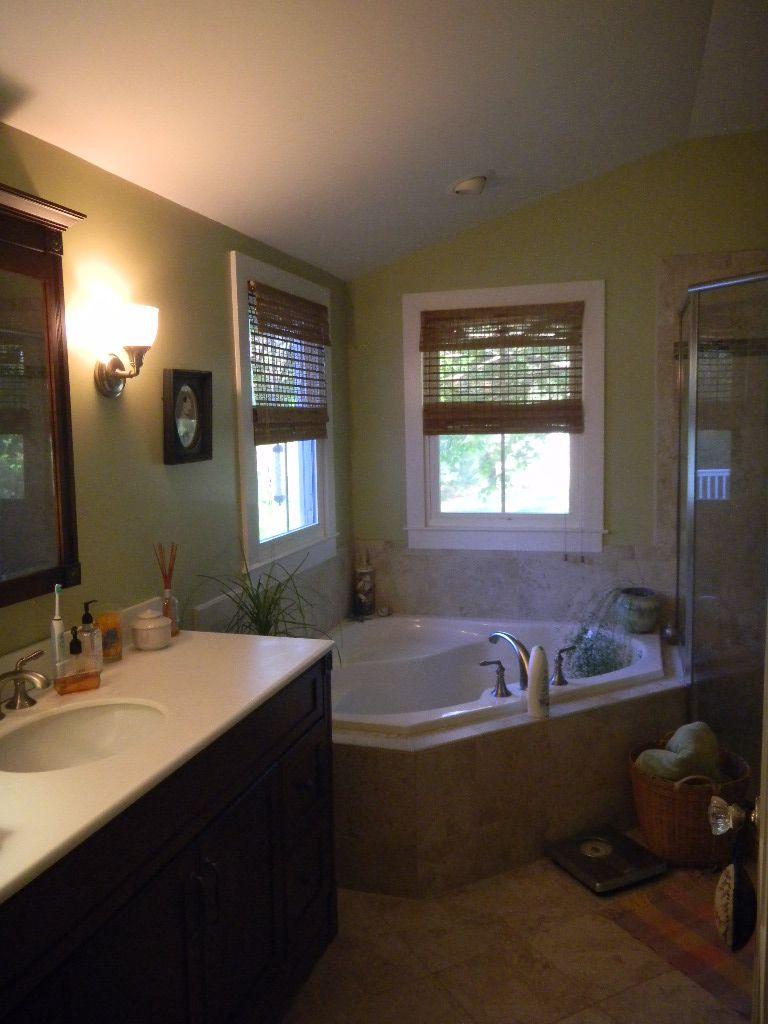 Master bath - corner tub & shower layout | Master Bath | Pinterest ...