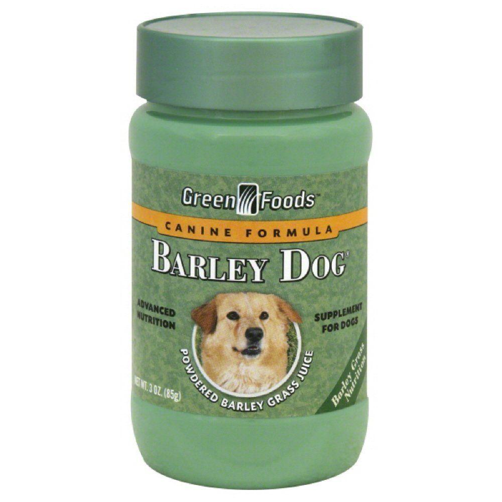 Green foods dog barley powder 3ounce want additional