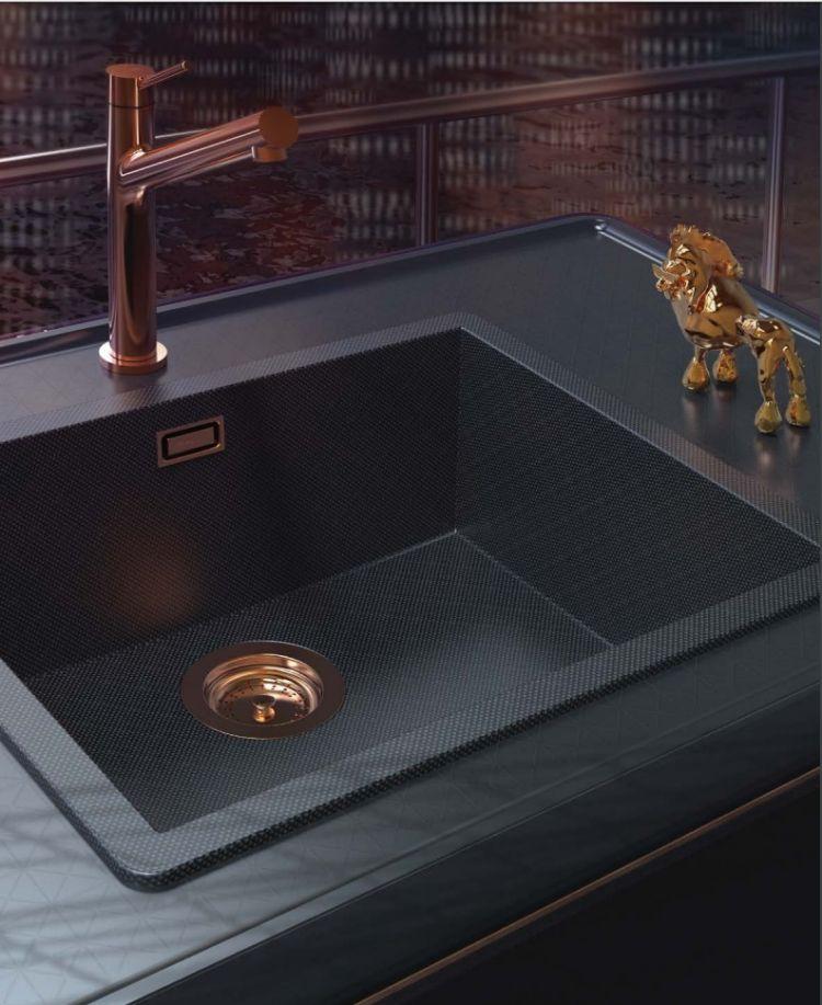Küchenspüle aus Karbon - außergewöhnlichen Einsatz in der Küche ...