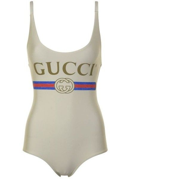edc8829af49 Gucci Swim Suit ($405) ❤ liked on Polyvore featuring swimwear, one-piece  swimsuits, swimming costume, bathing suit swimwear, swim suits, lycra  swimsuit and ...