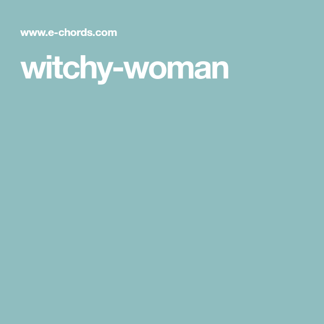 Witchy Woman Guitar Music Tutorials Pinterest Guitars