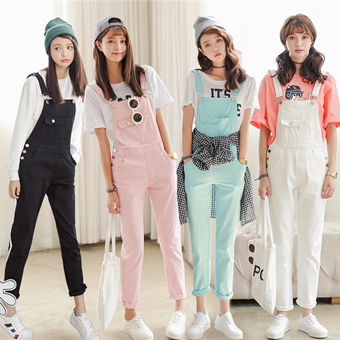 """Sweet candy color strap trousers HOLIDAYGIFTCENTER-BESTGIFTOFTHEYEAR CuteKawaiiHarajukuFashionClothing&AccessoriesWebsite.SponsorshipReview&AffiliateProgramopening!i have no idea to chose which one? check it out use this coupon code """"pinscute"""" to get all 10% off shop now for lowest price."""