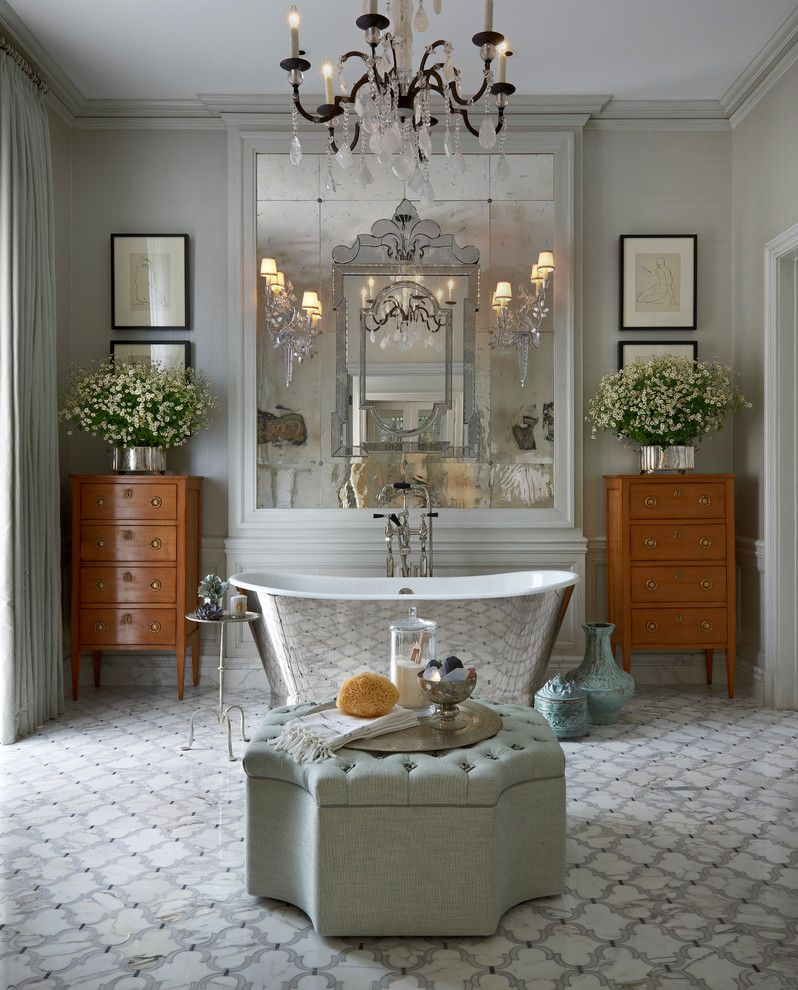 . Hot for 2016  Decorating Your Bathroom in Silver Hues   Our Favorite