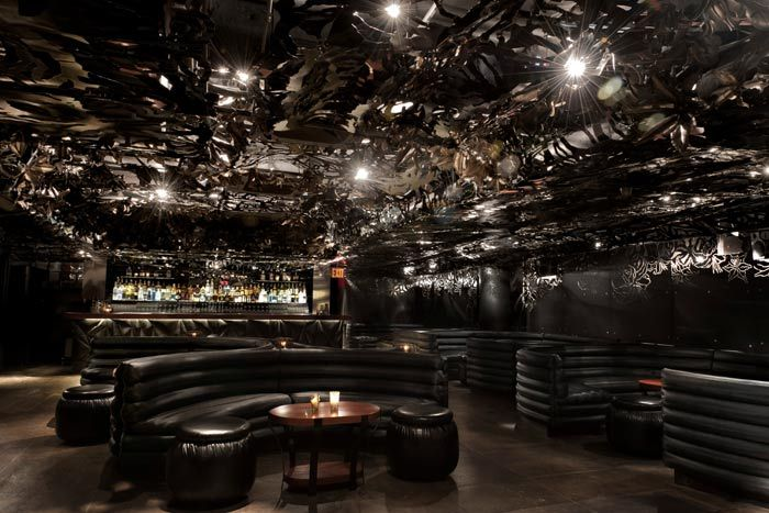 Lilium The Gerber Groups Replacement For Underbar At W Union Square Hotel Opened Last Week With A New Design That Includes Ceiling Decorated