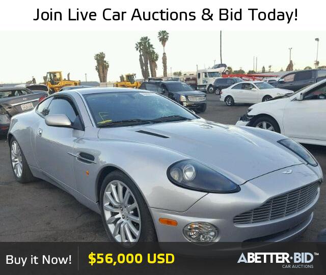 Salvage 2003 Aston Martin All Models For Sale Scfac23333b501181 Https Abetter Bid En 23939197 2003 Aston Luxury Cars For Sale Car Auctions Cars For Sale