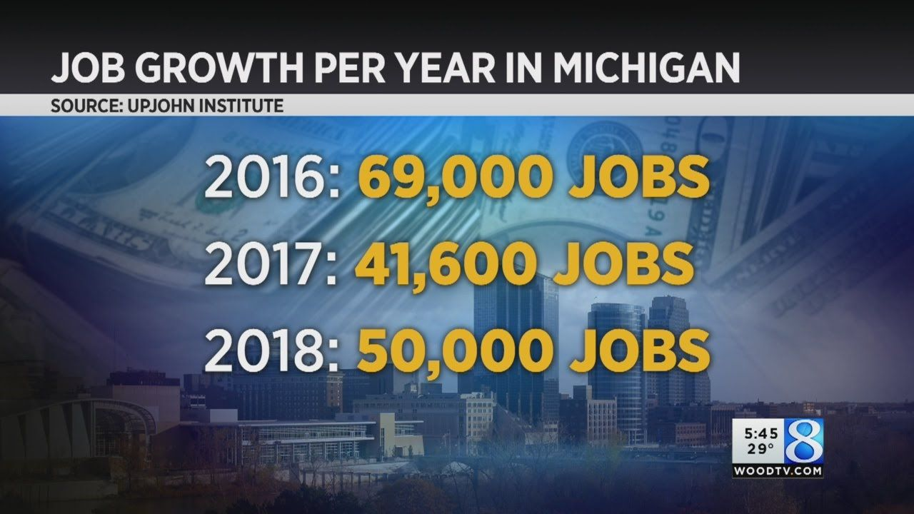 Michigan In  Fewer New Jobs But Higher Wages Forecast Says