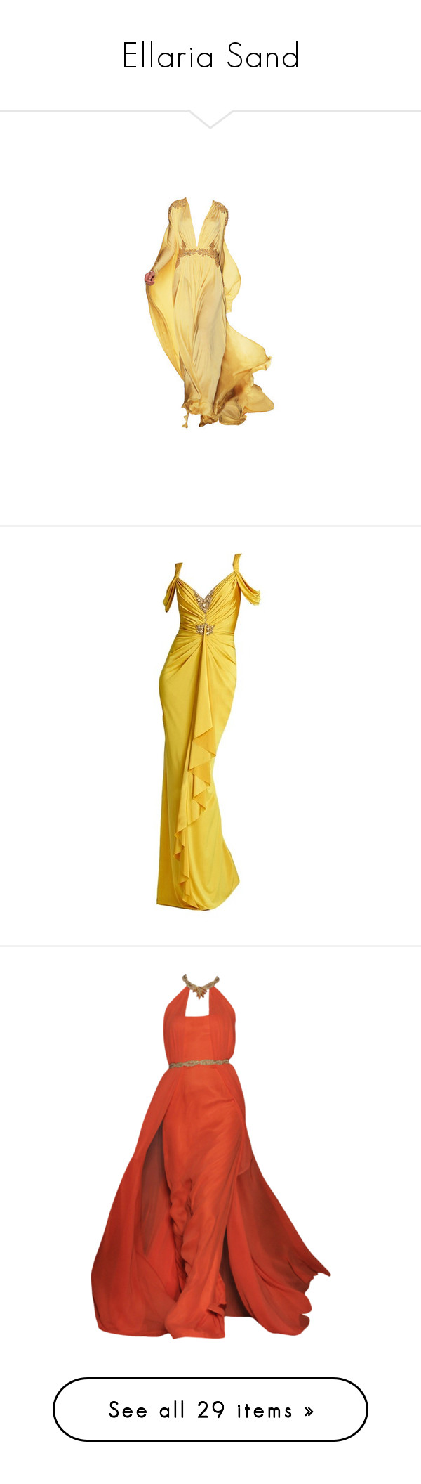 Yellow dress like belle  Ellaria Sand