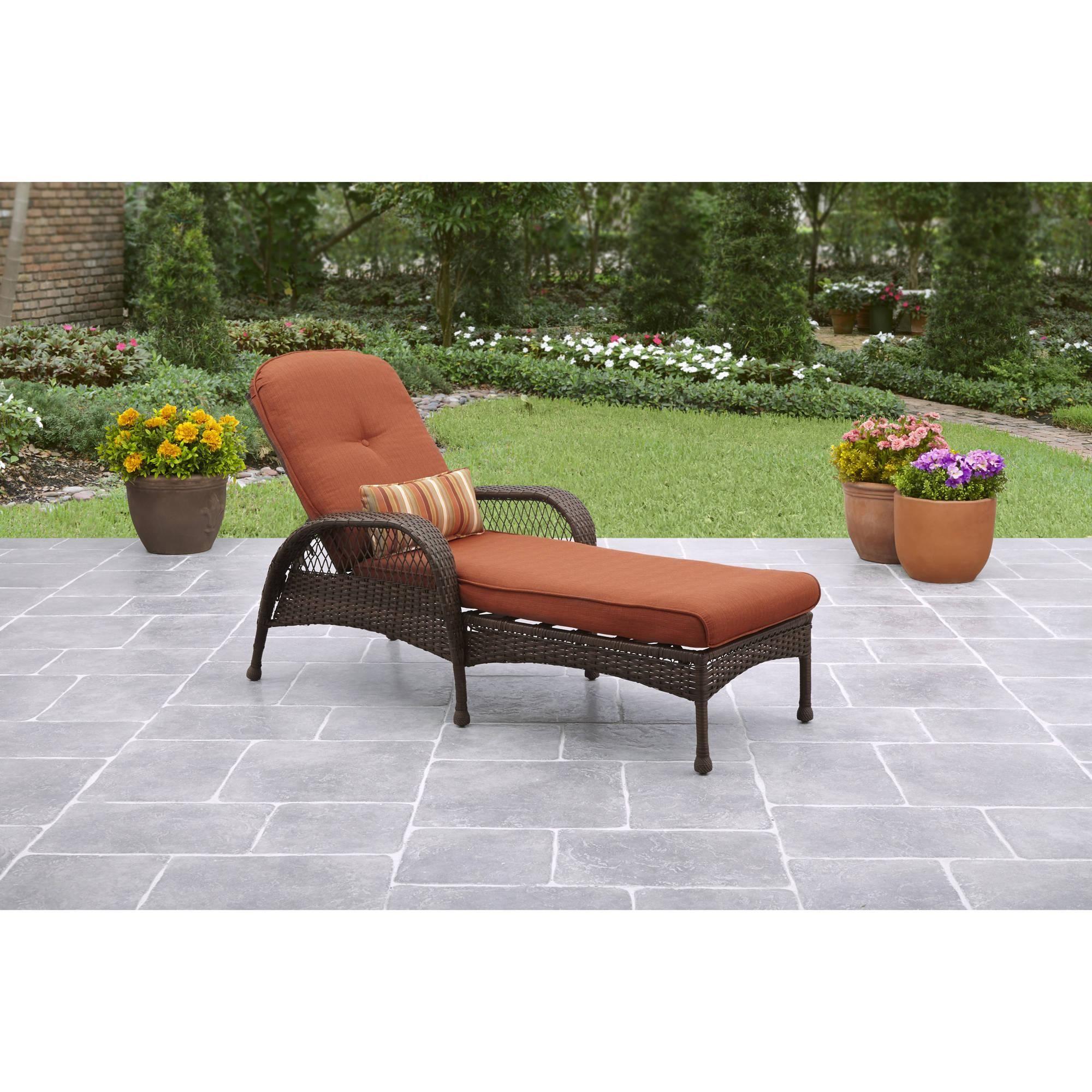 Patio & Garden Patio chaise lounge, Better homes, gardens