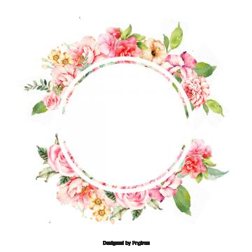 Flower Frame Acordo Fundo Linda Arquivo Png E Psd Para Download
