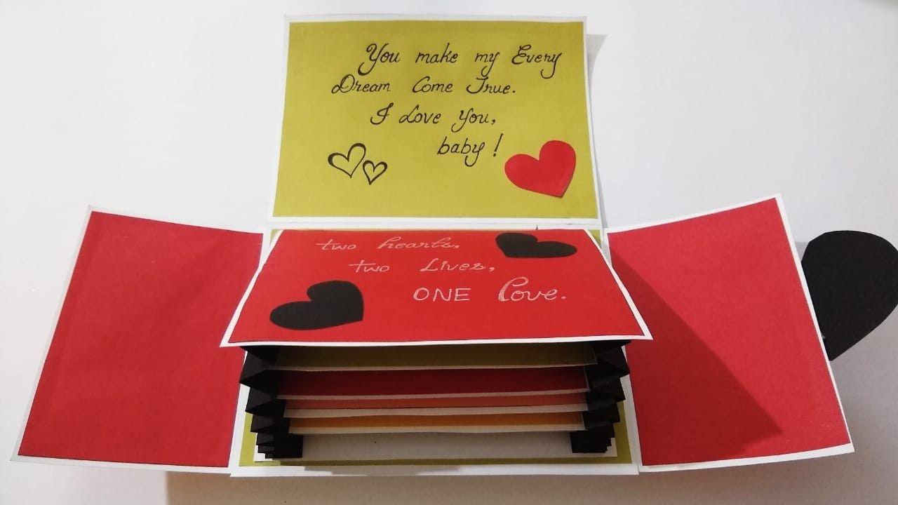 Beautiful Handmade Card Idea For Boyfriend Special Card For Boyfrie Diy Birthday Card For Boyfriend Handmade Cards For Boyfriend Birthday Cards For Boyfriend
