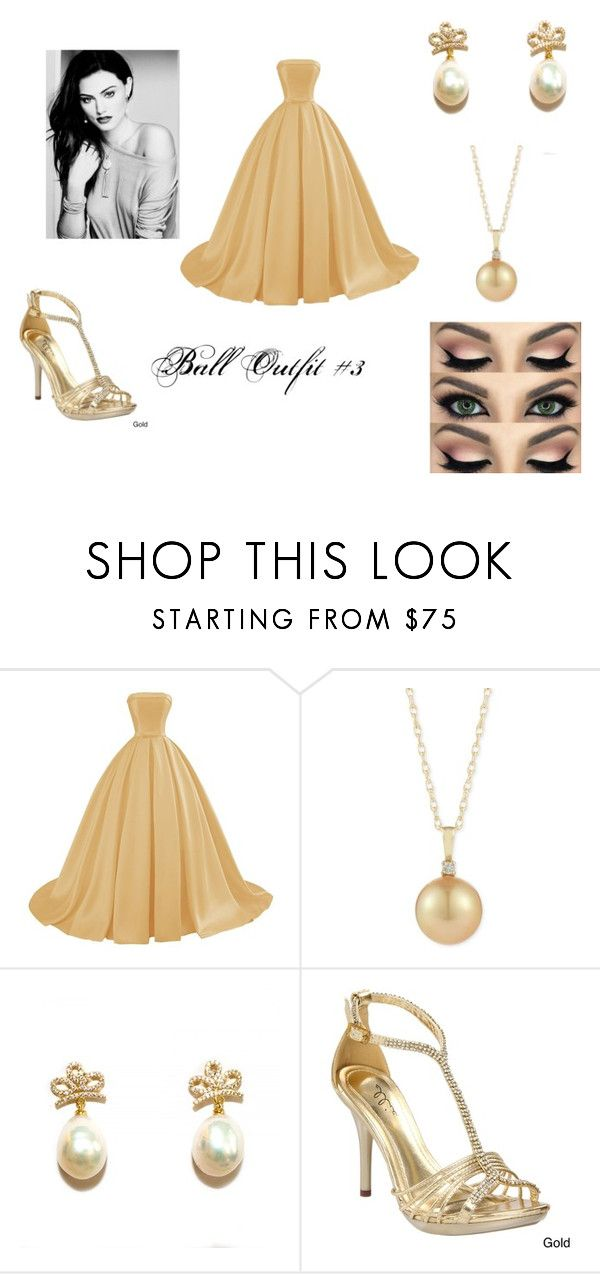 """""""Ball Outfit #3"""" by lunipie ❤ liked on Polyvore featuring Ellie"""