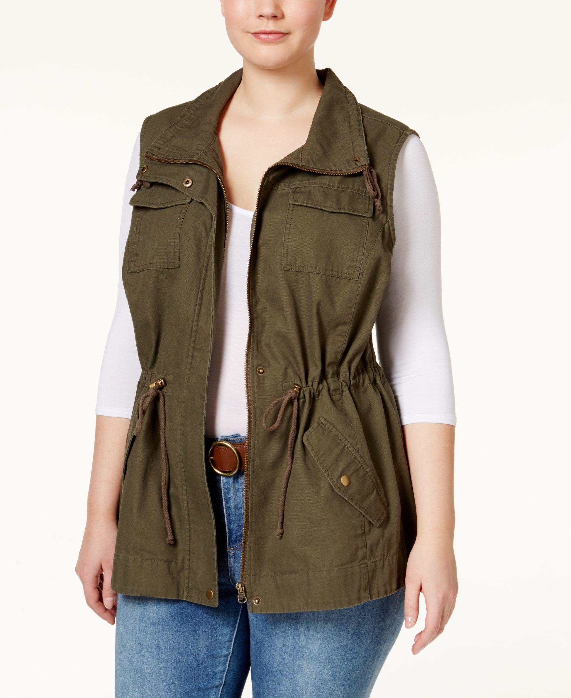 6463e9dad66 American Rag Plus Size Utility Vest