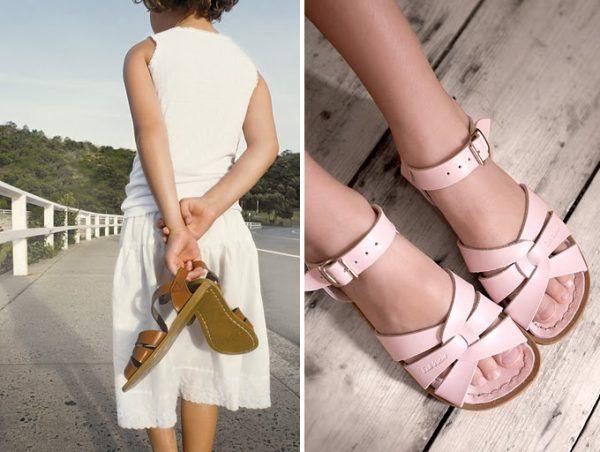 exclusive stunning Salt Water Sandals arrive in Australia