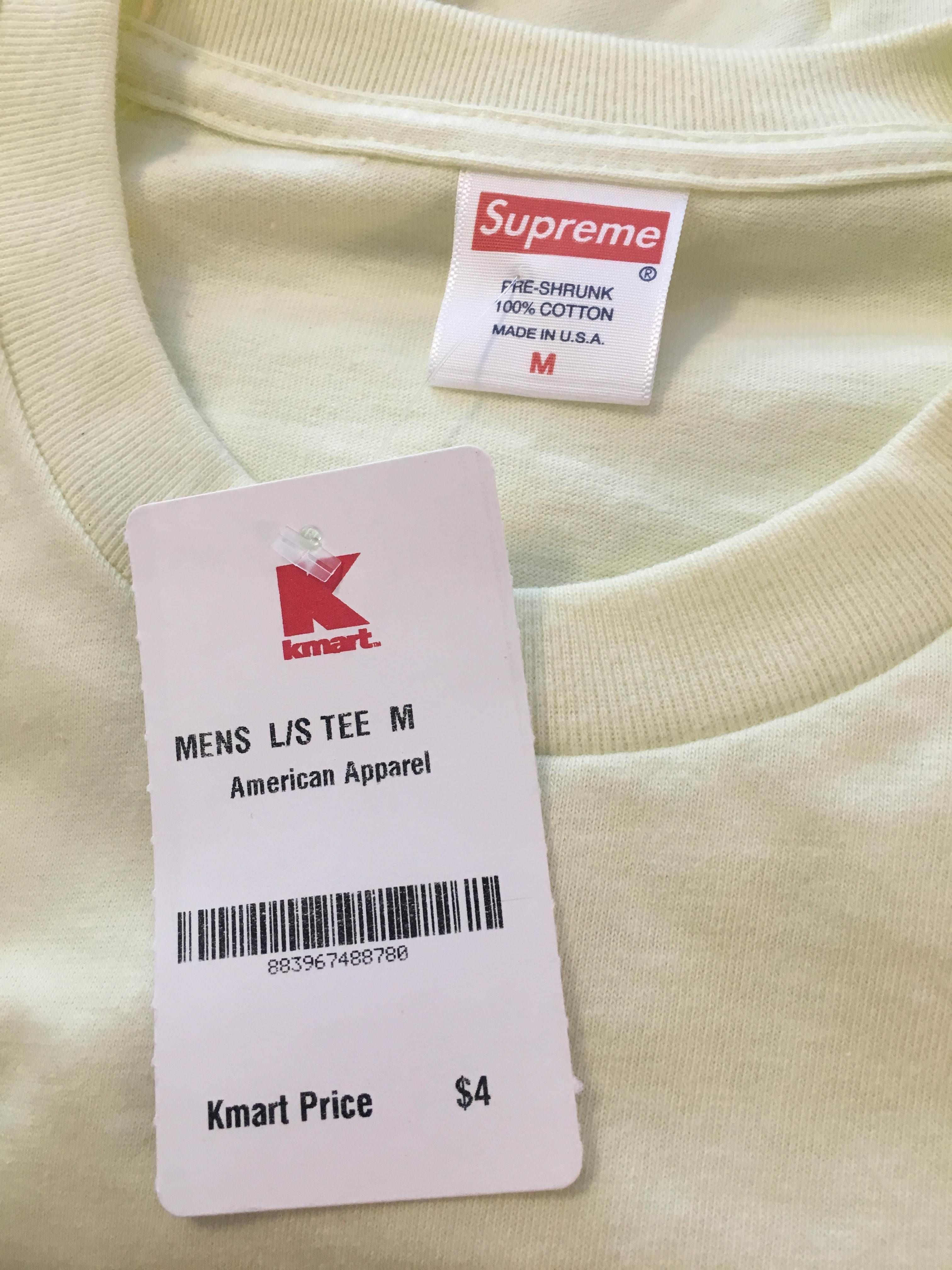 So How Did Supreme Tees Even End Up In A Kmart Tees Supreme T Shirt Kmart