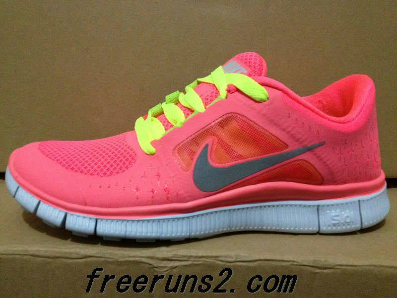 nike free run 3 pink punch with raspberry