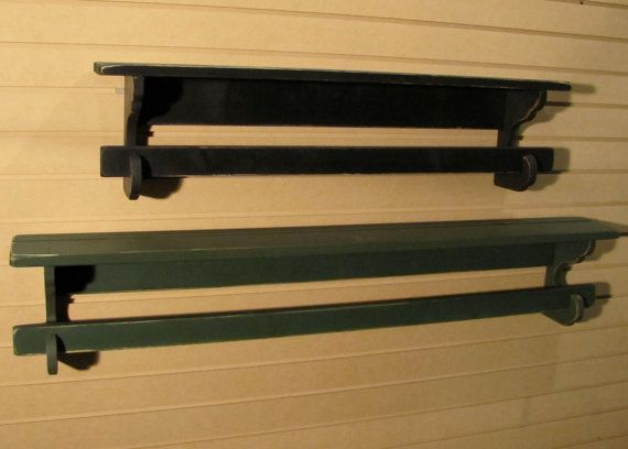 Primitive Quilt Rack 3 Long Rustic Country Style Wall Hanging