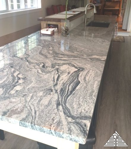 White Waves Granite Luxury Countertops Pinterest