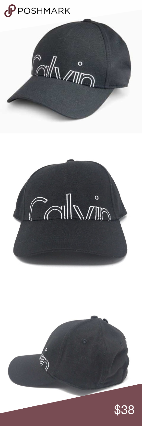35371f1b Calvin Klein Small Logo Baseball Cap Black - Parchment'N'Lead