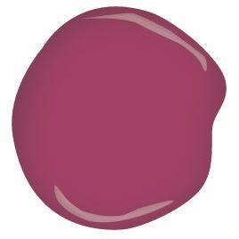 Benjamin Moore berry fizz CSP-440 #indoorpaintcolors