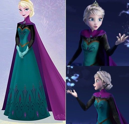 Disney New Moive Frozen Elsa Dress Made Cosplay Costume For Adult&Child Pre-Sell