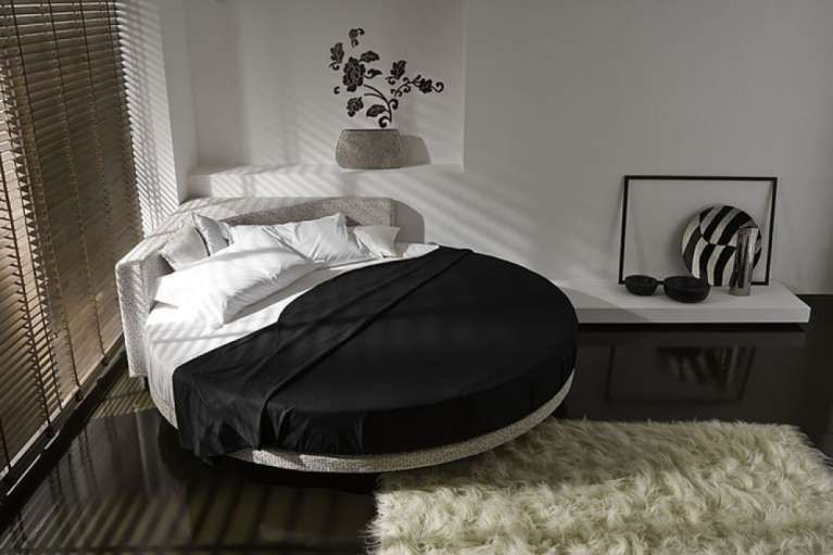 Letto Matrimoniale Rotondo Prezzi.Letti Rotondi Matrimoniali Prezzi E Modelli Di Design Cool Beds