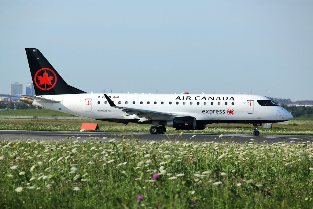 Air Canada Express Fleet (Sky Regional) Embraer E175