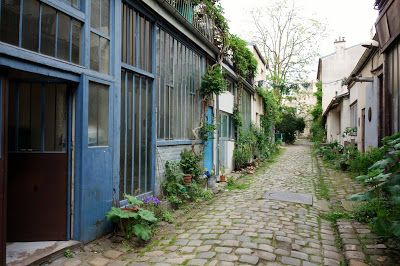 Ateliers Paris : rue Oberkampf -  Artists studios