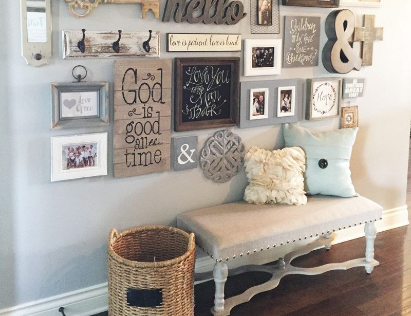 How to create a gallery wall in your home pinterest