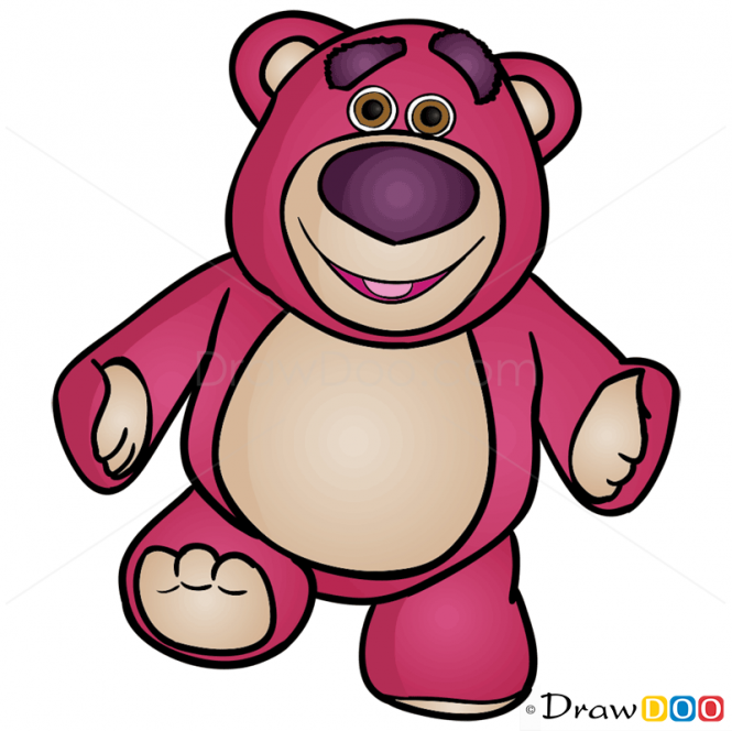 How To Draw Lotso Toy Story In 2020 Woody Toy Story Toy Story Characters Disney Drawings