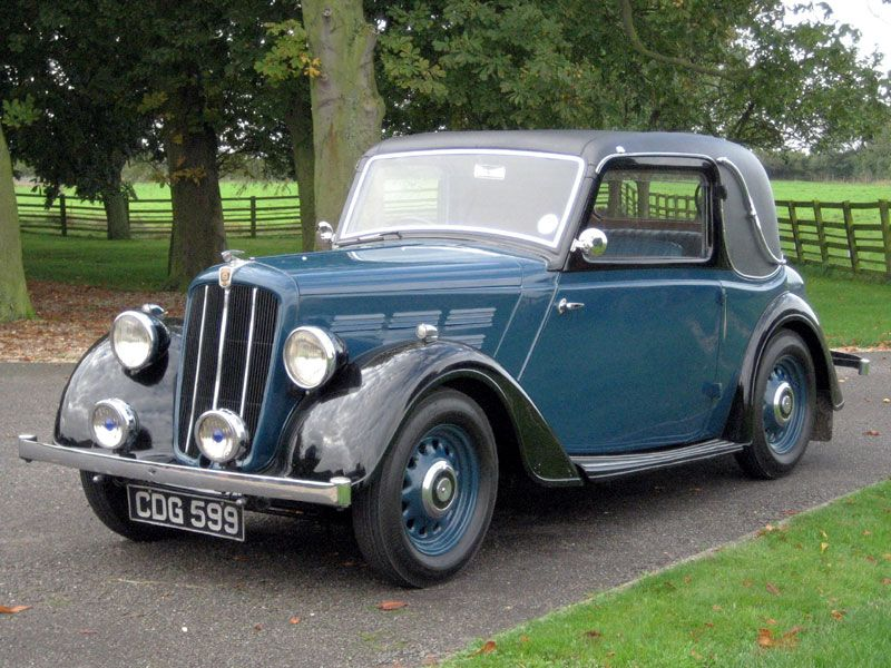 1938 Morris 10/4 Series III Special Coupe | British Classic Cars ...