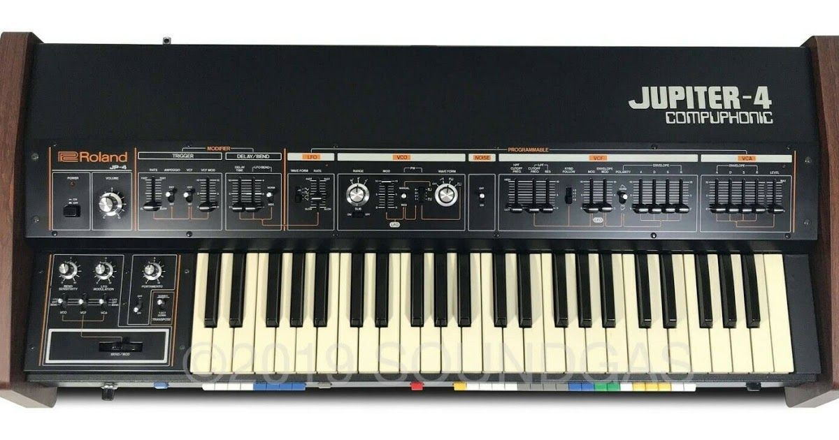 ROLAND JUPITER-4 COMPUPHONIC SN 962967 | Analog Synths in